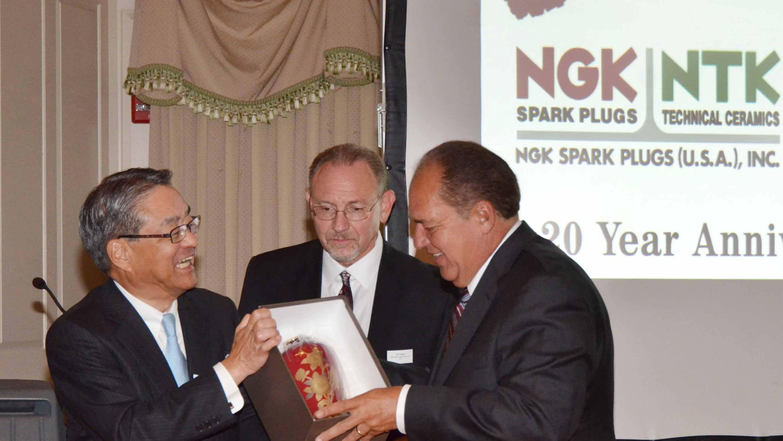 NGK celebrates 20 years in West Virginia